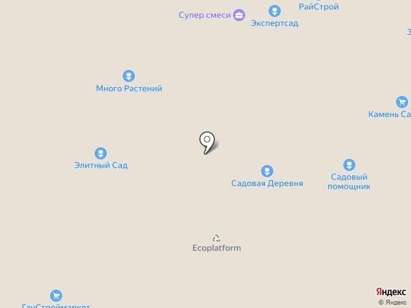 Мировой-газон на карте Москвы