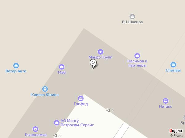 Рубикон на карте Москвы