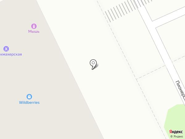 Национальный платежный сервис на карте Видного