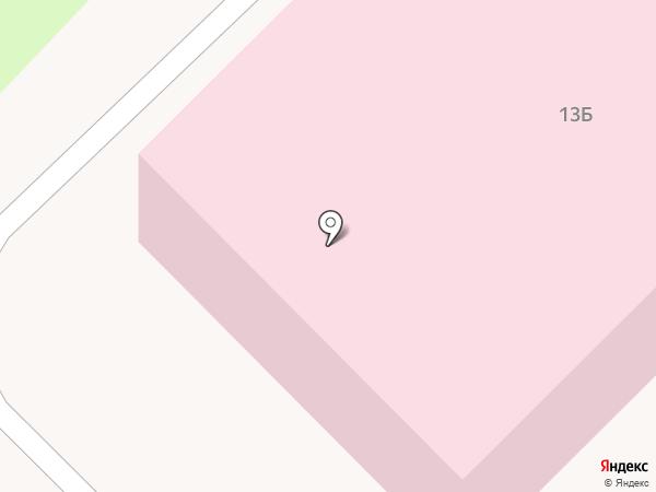 Городская больница №11 на карте Тулы