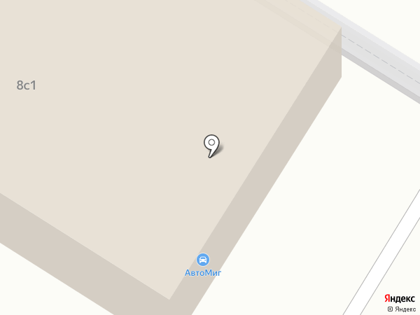 Авто-Миг на карте Москвы