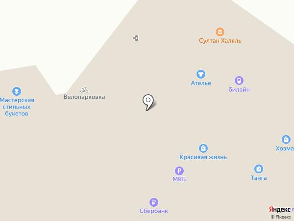 Магазин табачной продукции на карте Москвы