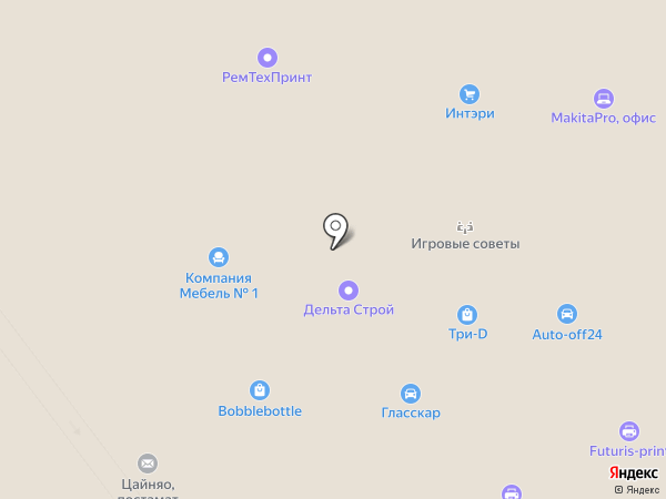 Аредо на карте Москвы