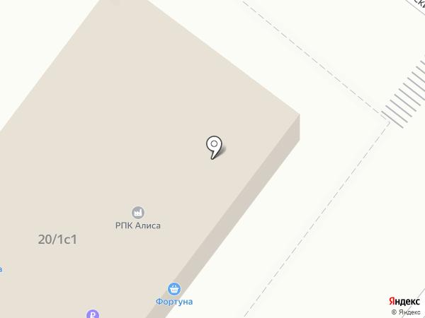 Хозяйственный магазин на карте Москвы