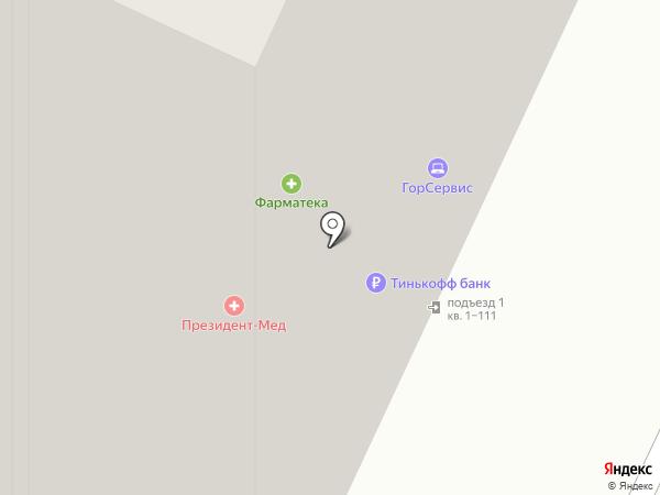 ПрезиДЕНТ на карте Видного
