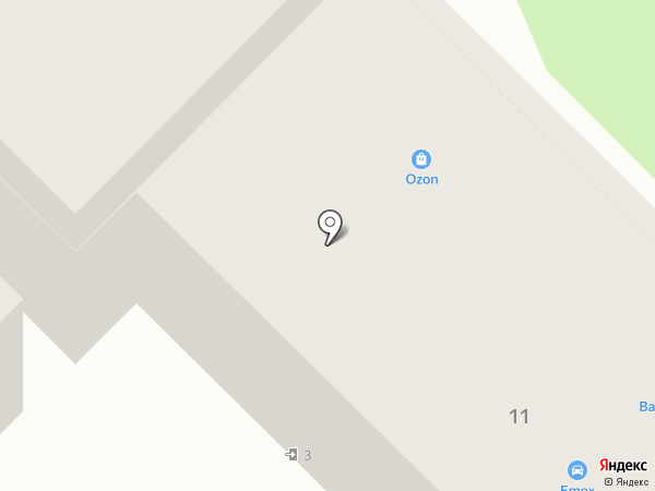 Магазин №166 на карте Тулы