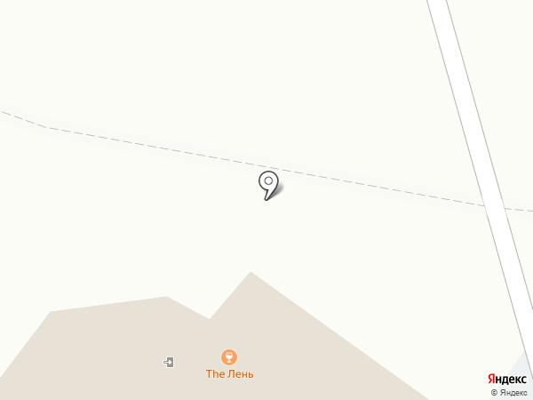 TheЛень на карте Москвы