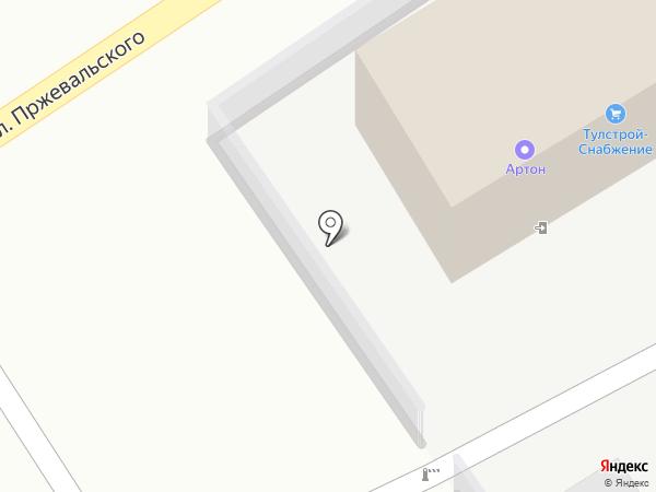 Тулстрой-Снабжение на карте Тулы