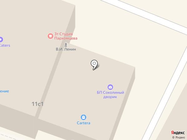 ИнтерЭкспресс на карте Москвы
