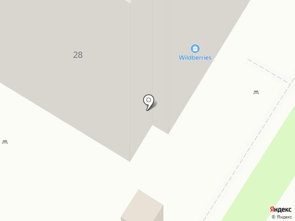 Юничел на карте Мытищ
