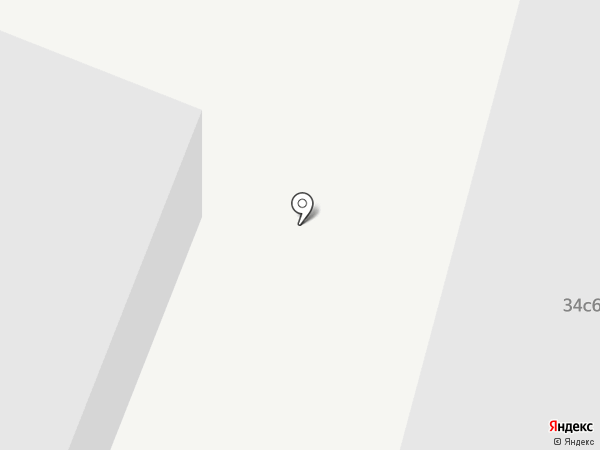 Навигатор на карте Москвы