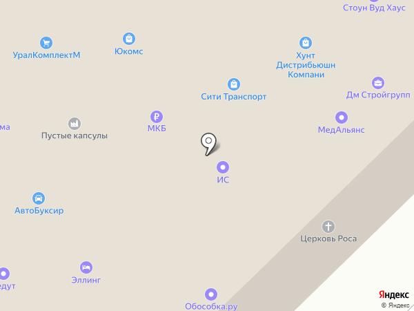 Adcase на карте Москвы