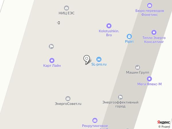 ЭфТранс на карте Москвы