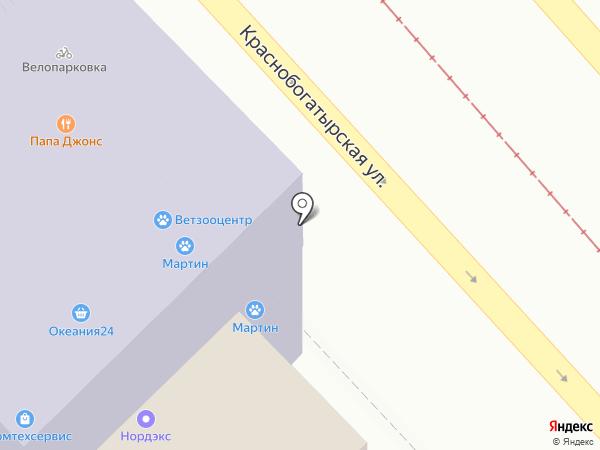 Карамелька на карте Москвы