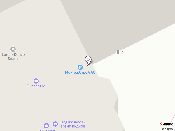 Эксперт М на карте Видного