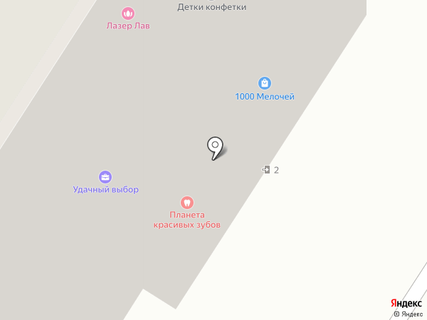 Детки-конфетки на карте Мытищ