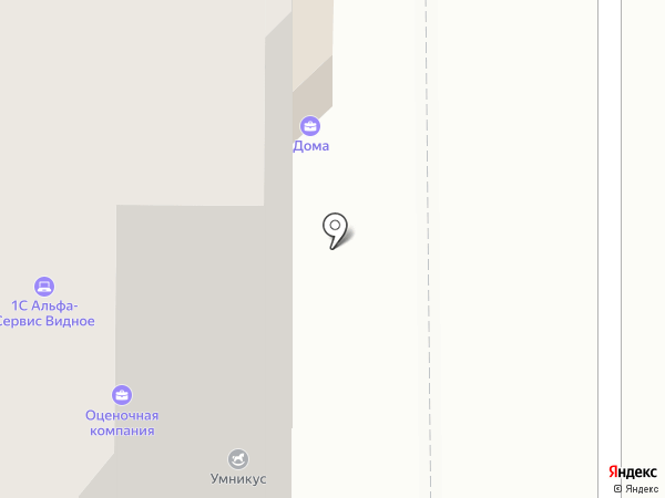 Горизонт на карте Видного
