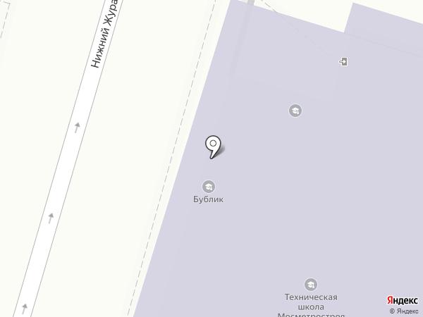 Строитель, НОЧУ ДПО на карте Москвы