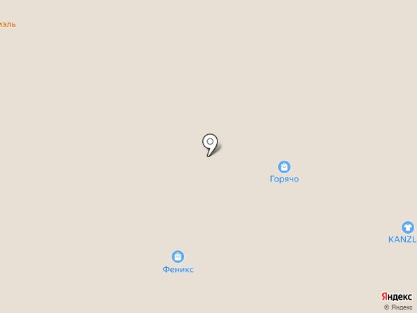 Лидия на карте Москвы