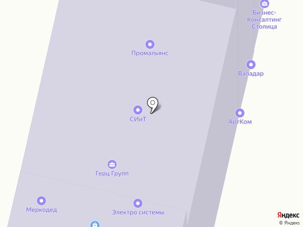 Звездная лига на карте Москвы