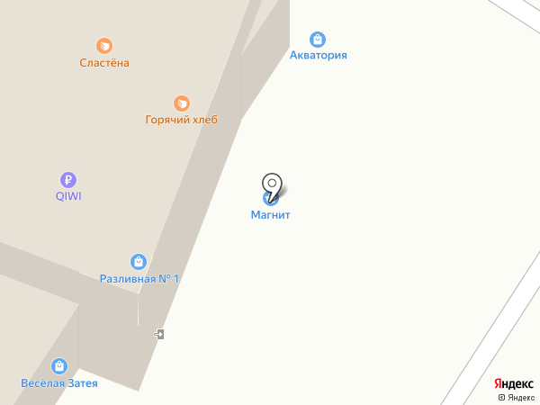 Магазин нижнего белья на карте Мытищ