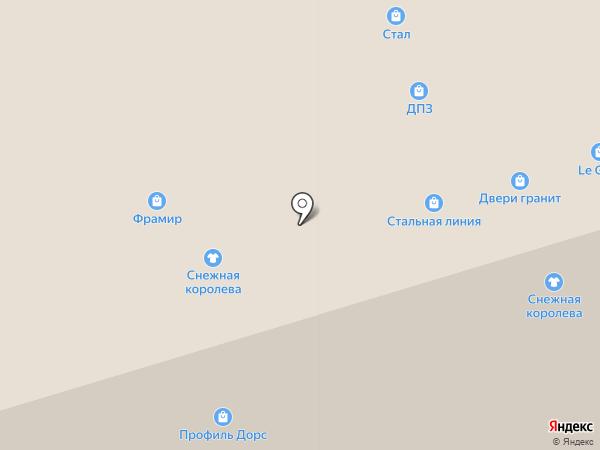 Окна ДомКом на карте Москвы