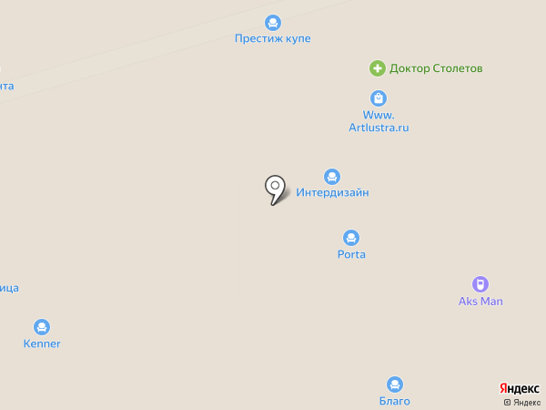 Доктор Столетов на карте Москвы