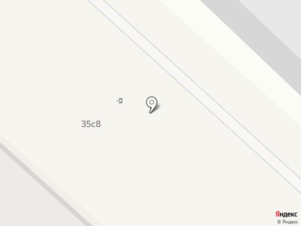 Аргон на карте Москвы