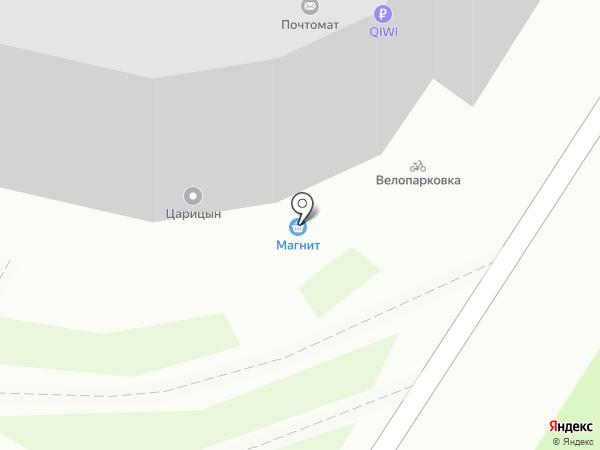 Магнит на карте Мытищ