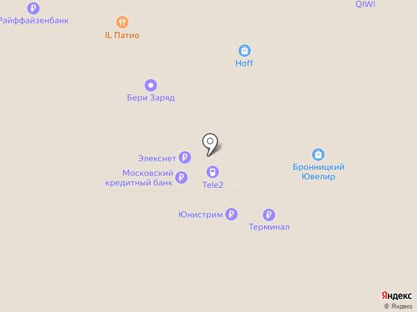 Бронницкий Ювелир на карте Мытищ