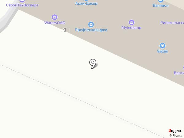 Нижегородский на карте Москвы