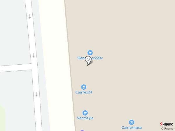 СадТех24 на карте Москвы