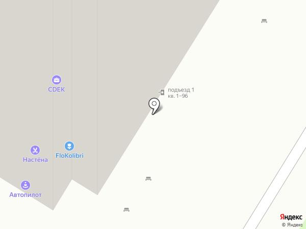 Колибри на карте Мытищ