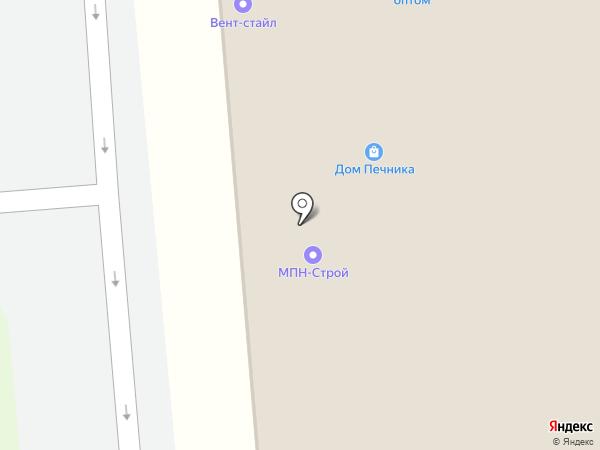 Мосстройлит на карте Москвы