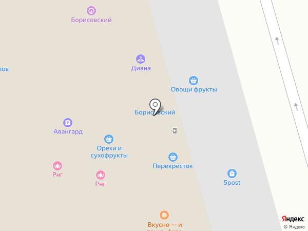ГАРАНТ-ЭКСТРА на карте Москвы