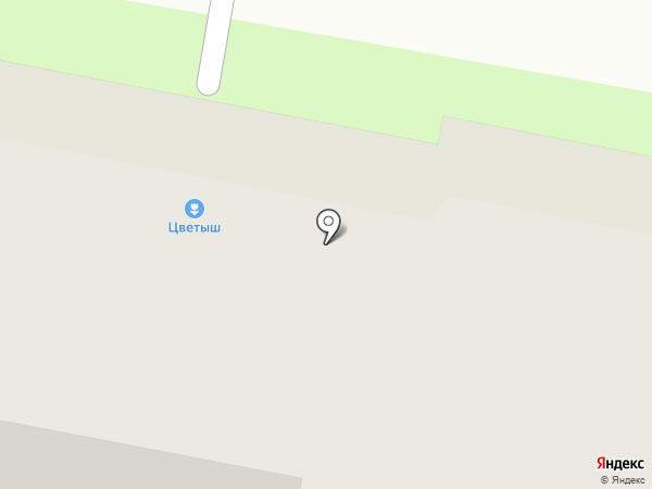 Цветыш на карте Мытищ