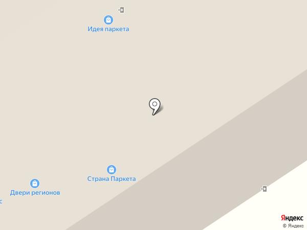 ОлимпПаркета на карте Москвы
