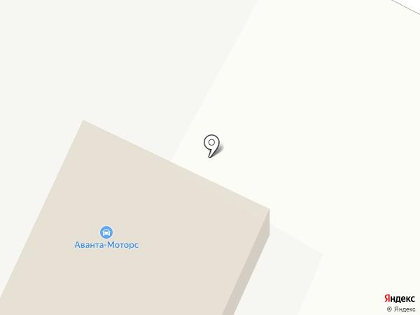 Автосервис на карте Москвы