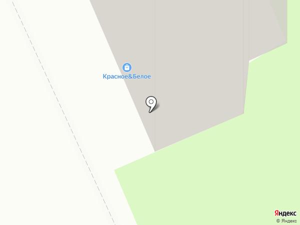 Красное & Белое на карте Мытищ