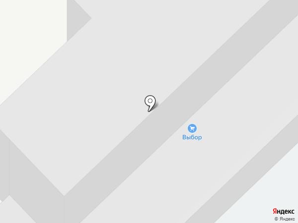 Выбор-С на карте Новороссийска