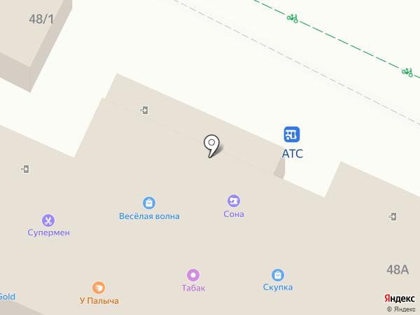 Анита на карте Видного