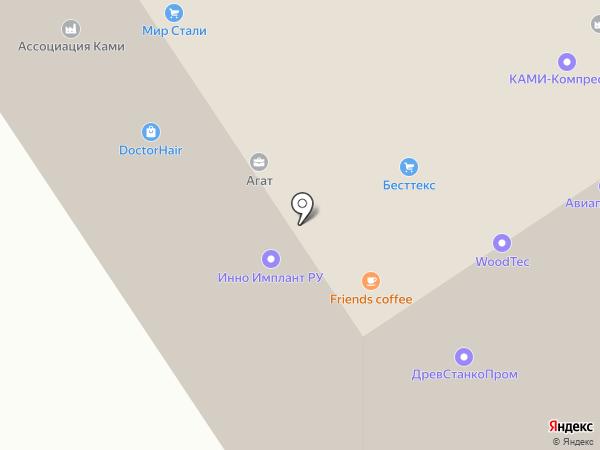 Деко Медиа на карте Москвы