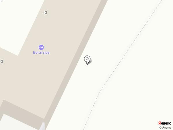 Богатырь на карте Видного