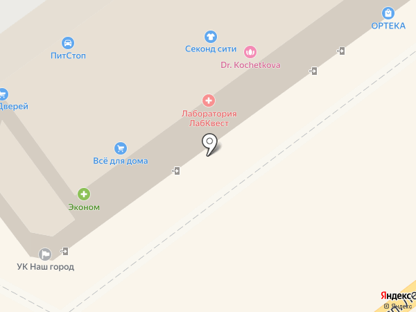 Магазин выпечки из тандыра на карте Видного