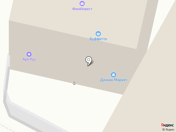 Дачник Маркет на карте Москвы