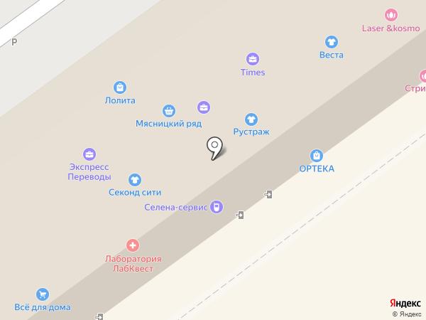 Тактик на карте Видного
