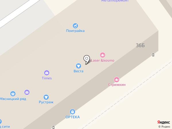 Магазин электроники на карте Видного
