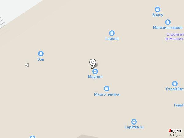 ДизайнЛакшериКлаб на карте Москвы