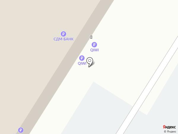 We-Ликан на карте Москвы