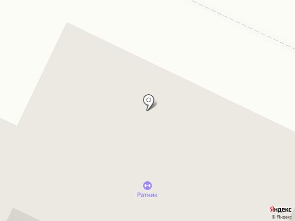 Ратник на карте Видного